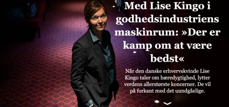 Med Lise Kingo i godhedsindustriens maskinrum: »Der er kamp om at være bedst«